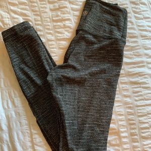 Lululemon High Waisted Knit Leggings